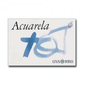 Acuarela Guarro 240 gr, 23x32.5, Gr. Grueso, block 20 h.