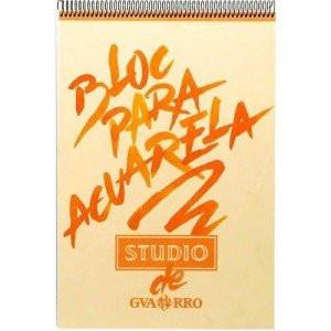 totenart-Acuarela Guarro Studio 224 gr, 29.7x42, Gr. Fino, block 40 h.