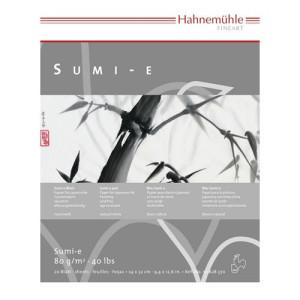 Papel pintura japonesa Sumi-e Block 80 gr, 30x40 cm.