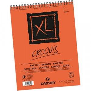 Block XL Croquis Canson 14.5x21 cm. 90 gr. 60 h.