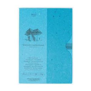 Bloc acuarela en estuche, 35 hojas, 280 gr., A4, SM.LT