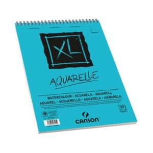 totenart-Acuarela Canson 300 gr, A4, Gr. Fino, block 30 h.