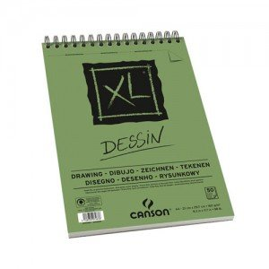 totenart-Esbozo Canson XL (Block), 50h., 160 gr., A4