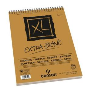 totenart-Esbozo Canson XL (Block), 120h., 90 gr., A4