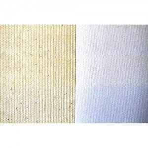 Tela 100% algodón C18 imprimado, 280 gr, Gr. fino, rollo (2,10x10 m)
