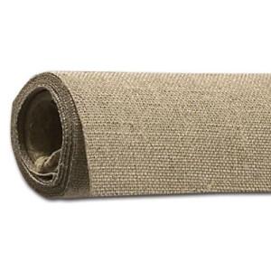 Tela de lino encolado color crudo, 230 gr, Gr. fino, rollo (2,10x10 m)