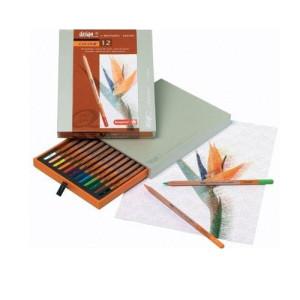 totenart-Estuche de 12 lápices color Sakura Bruynzeel