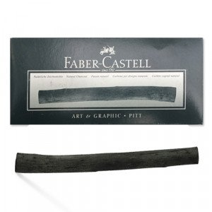 totenart-Caja Carboncillo Vegetal Faber-Castell, 9-15 mm, 15 uds