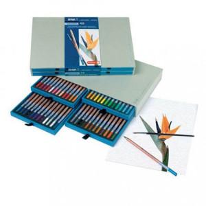 totenart-Estuche de 48 lápices acuarelables Sakura Bruynzeel