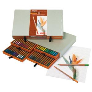 totenart-Estuche de 48 lápices color Sakura Bruynzeel