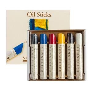Set 6 barras de óleo extra fino Sennelier