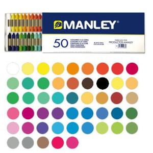 Totenart-Ceras Manley, 50 colores