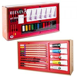 totenart-Caja de Arte Reeves 36 piezas.