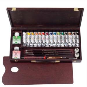 Totenart-Caja de madera Professional acrilico Rembrandt