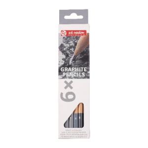 Caja lápices de grafito 6 unidades Art Creation