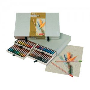 Estuche de 48 lápices pastel Sakura Bruynzeel