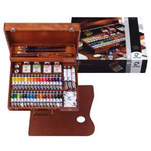 Totenart. Caja de madera Superior óleo Van Gogh