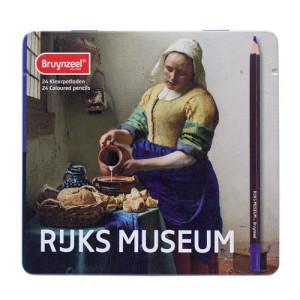 Totenart-Caja Edición Especial 24 lápices color Bruynzeel- La Lechera de Vermeer