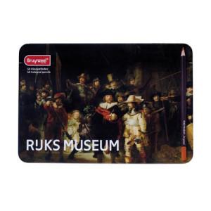 Totenart-Caja Edición Especial 50 lápices color Bruynzeel- La ronda de noche de Rembrantd