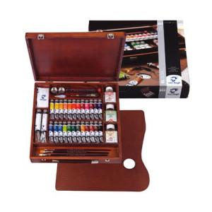 Totenart. Caja de madera Expert óleo Van Gogh