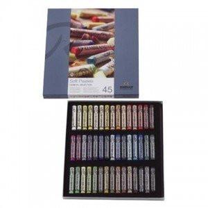 totenart-Caja pastel Rembrandt 45 colores, Seleccion General