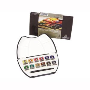 Totenart. Caja Pocket Box 12 pastillas de acuarelas Rembrandt