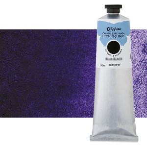Tinta Grabado Ecológica Violeta de Carbazol, tubo 150 ml.