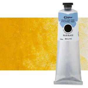 Tinta Grabado Ecologica Amarillo Indio, tubo 150 ml.