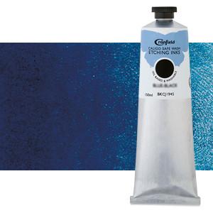 Tinta Grabado Ecológica Azul Primario (Cian), tubo 150 ml.