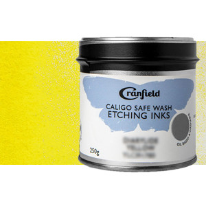 Tinta Grabado Ecológica Amarillo Primario, Lata 250 gr.