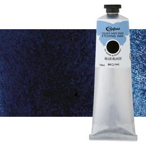 Tinta Grabado Ecológica Azul de Prusia, tubo 150 ml.