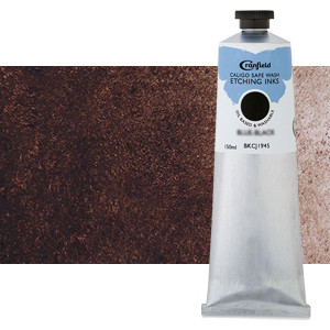 Tinta Grabado Ecologica Sepia, tubo 150 ml.