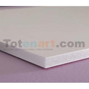 totenart-Carton Pluma, 5 mm., 122x244 cm., caja 25 unidades