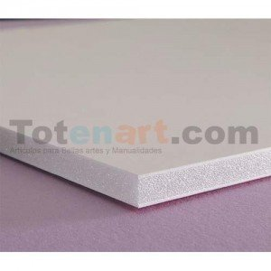 Totenart-Carton Pluma, 5 mm., 140x300 cm., caja 20 unidades
