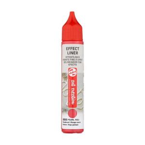 Delineador Efecto Rojo Perlado 8505, 28 ml. ArtCreation