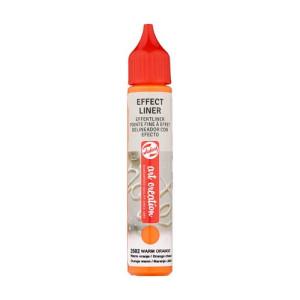 Delineador Efecto Naranja Cálido 2502, 28 ml. ArtCreation