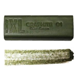 Grafito en barra XL Verde Oliva 01 Derwent