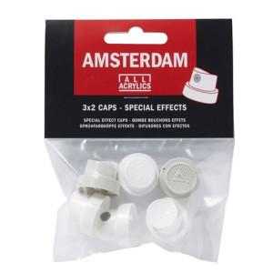 Boquilla Efectos especiales Spray Acrilico Amsterdam, juego 6 unidades