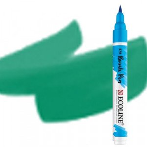 totenart-Rotulador Acuarela Ecoline Brush Pen Verde Bosque