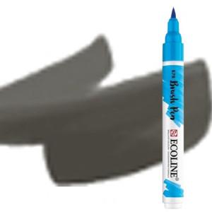 totenart-Rotulador Acuarela Ecoline Brush Pen Gris Frio