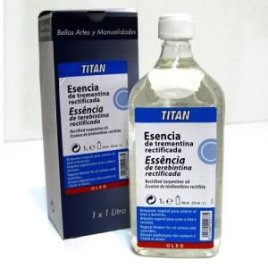 Esencia de trementina Titan (1000 ml)