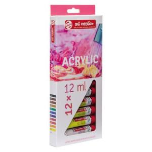 totenart-Estuche de 12 colores acrílicos Art Creation (12 ml)