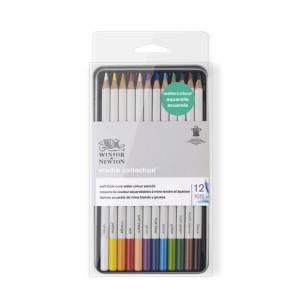 Estuche de 12 lápices acuarela Studio Collection Winsor&Newton