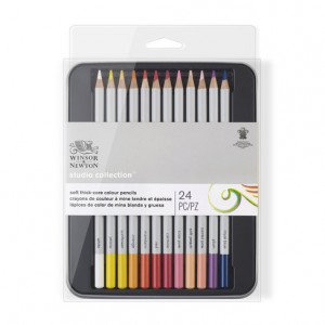 Estuche de 24 lápices de colores Studio Collection Winsor&Newton
