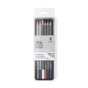 Estuche de 6 lápices de esbozo Studio Collection Winsor&Newton