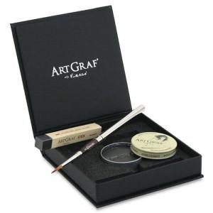 Totenart-ART GRAF Kit de Acuarela de Grafito.