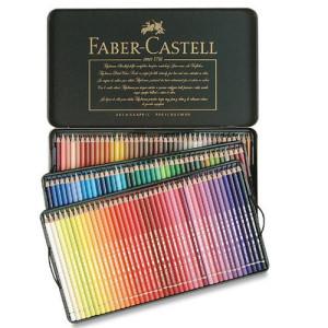 mayor selección de 2019 elige auténtico brillante en brillo Estuche de Lápices color POLYCHROMO, Faber Castell (120 colores)