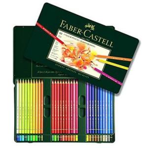 totenart-Estuche de Lápices color POLYCHROMO, Faber Castell (60 colores)