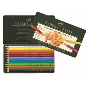 Totenart. Estuche de Lápices color POLYCHROMO, Faber Castell (12 colores)