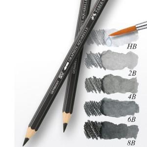 totenart-Lapiz Grafito Acuarelable HB, Faber-Castell